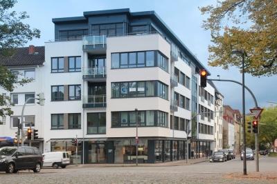Neubau von Wohn- und Geschäftshäusern